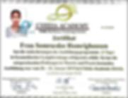 Zertifikat Lymphdrainage Dee Homrighause