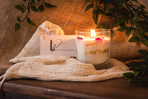 LP 'FOREVER' Soy Wax Candle