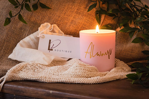 LP 'ALWAYS' Soy Wax Candle