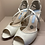 Thumbnail: Charlotte Mills Mid Heel Open Toe Shoe