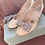 Thumbnail: Charlotte Mills 'Etta' Low Glitter Heel with Detachable Clips