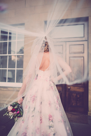 The Couture Veil Rose Veil Sassi Holford