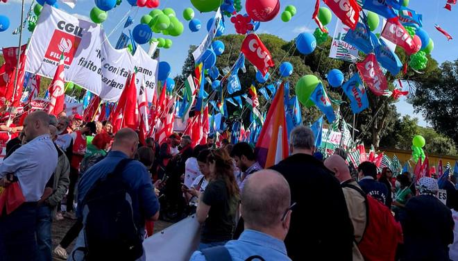 Anche la Cisl Messina alla grande manifestazione a Roma