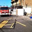 Fondachello Valdina. >Bottega di un panificio devastata da un'esplosione, forse una fuga di gas<