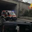 Incidente sulla A/20 ME-PA >Auto precipita da un viadotto all'altezza di Torregrotta<