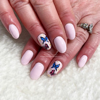 Hand Painted Butterflies