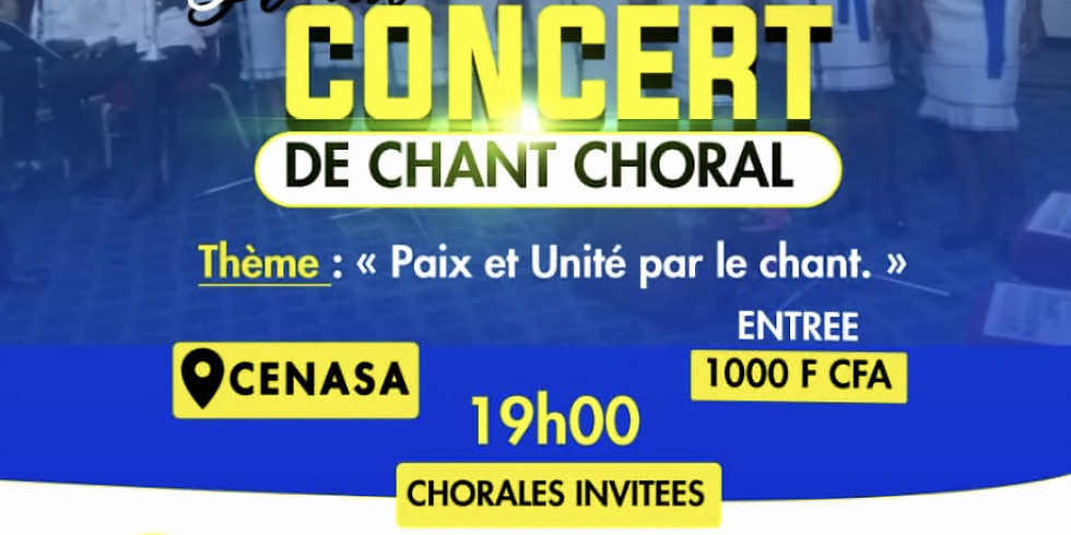 Grand concert de chant Chorale (EMA)