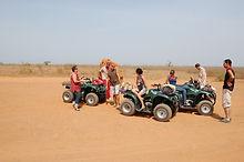 termitières géantes quad