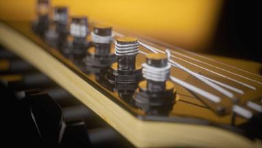 Ibanez guitar close up fanart