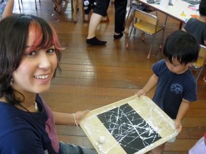 Japan Pre-School Artworkshop tour 2009
