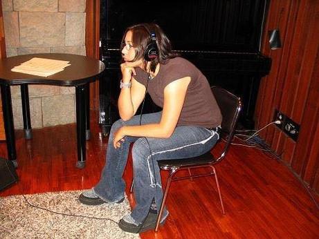 Mayuka at Columbia Music Entertainment, Tokyo, Japan 2004