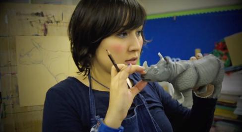 Mayuka teaching
