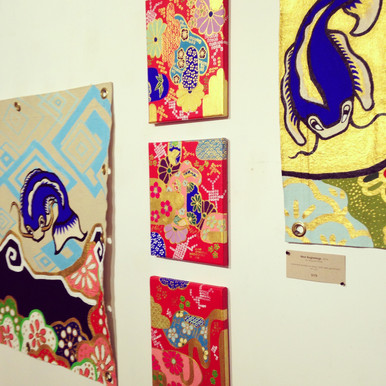 Exhibition at the DAB ART gallery Ventura, CA 2015