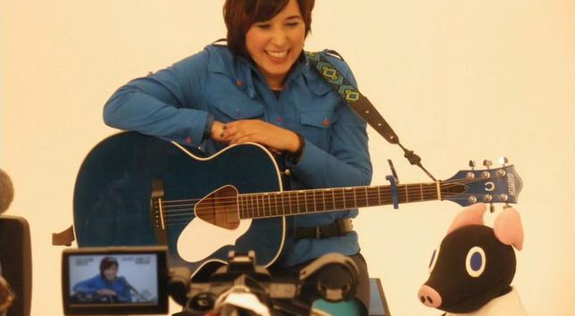 On set of Utabako TV 2011