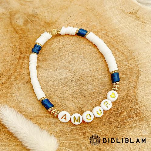 Bracelet Amour (perles de polymère)