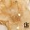 Thumbnail: Collier double Grigri (acier chirurgical plaqué or)