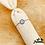 Thumbnail: Bague chaîne réglable Greek Eye (argent)