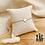 Thumbnail: Bracelet Léa (acier chirurgical plaqué or gris & pierre fine)