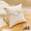 Thumbnail: Bracelet Toi & Moi medium (argent)