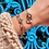 Thumbnail: Bracelet Anaïs (acier chirurgical plaqué or gris & pierres fines)