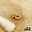Thumbnail: Boucles d'oreilles Gourmette mini (plaqué or)
