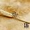 Thumbnail: Bague d'oreille Manon (acier chirurgical plaqué or gris)