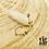 Thumbnail: Boucles d'oreilles Fallone (acier chirurgical plaqué or gris)