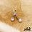 Thumbnail: Boucles d'oreilles Pépites Blink (argent & oxydes de zirconium)