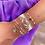 Thumbnail: Bracelet Rosa (plaqué or & perles de myuki)