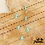 Thumbnail: Collier Laura (palqué or & perles émaillées)
