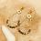 Thumbnail: Boucles d'oreilles empierrées (acier chirurgical plaqué or)