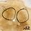 Thumbnail: Bracelet Minilab cordon personnalisable (argent & plaqué or)