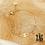 Thumbnail: Bracelet Kenza (acier chirurgical plaqué or)