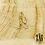 Thumbnail: Boucles d'oreilles Naos (acier chirurgical plaqué or et oxyde de zirconium)
