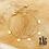 Thumbnail: Bracelet Chaïma (acier chirurgical plaqué or)