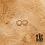 Thumbnail: Créoles Riquicuscule (acier chirurgical plaqué or)