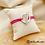 Thumbnail: Bracelet Liloo cordon rose (métal argenté)