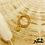 Thumbnail: Bague Jade élastique (plaqué or)