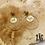 Thumbnail: Boucles d'oreilles Horse (acier chirurgical plaqué or)