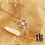Thumbnail: Sautoir Alpha (acier chirurgical plaqué or et oxydes de zirconium)