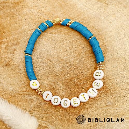 Bracelet Together (perles de polymère)