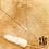 Thumbnail: Collier Strass (acier chirurgical plaqué or & oxyde de zirconium)