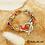 Thumbnail: Bracelet Ando Fleuri (métal argenté)