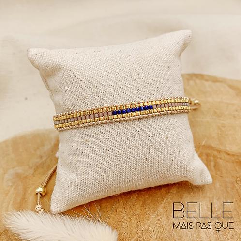 Bracelet Wave (plaqué doré)
