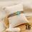 Thumbnail: Bracelet Lucky multi-rangs coloré (acier chirurgical plaqué or & nylon ciré)