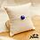 Thumbnail: Bracelet Jodie (argent et lapis lazuli)