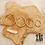 Thumbnail: Créoles Cara 4 tailles (acier chirurgical plaqué or)