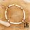 Thumbnail: Chaîne de cheville Heliophilia (perles de polymère)