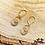 Thumbnail: Boucles d'oreilles Véla (plaqué or)