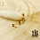 Thumbnail: Boucles d'oreilles Luan (acier chirurgical plaqué or)